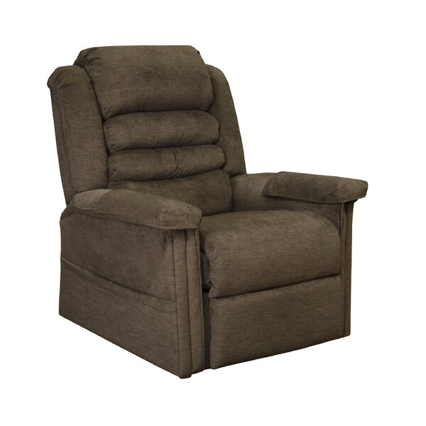 Baggs Full Lay-Out Power Lift Assist Recliner By Red Barrel Studio