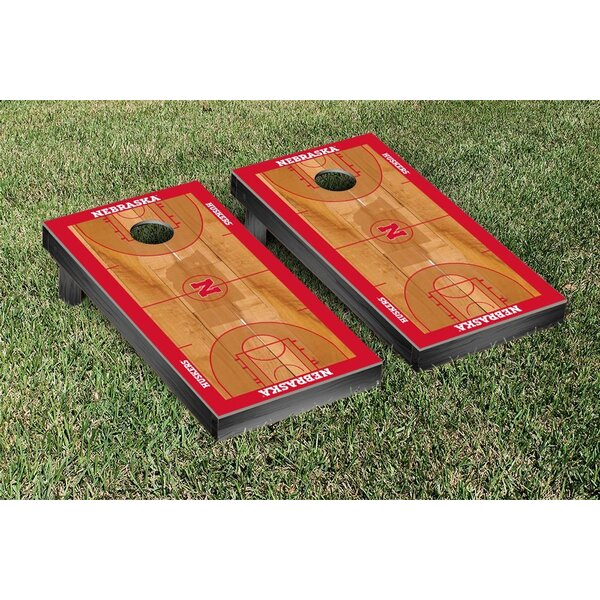 NCAA Basketball Version Cornhole Bean Bag Toss Game by Victory Tailgate
