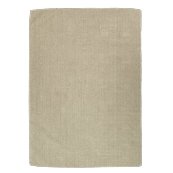 Taelyn Nature Cotton Beige Area Rug by Winston Porter