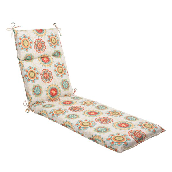 Joliet Indoor/Outdoor Chaise Lounge Cushion by Darby Home Co