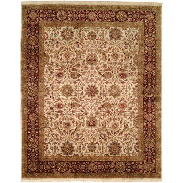 Chaudhry Hand-Woven Brown Area Rug by Meridian Rugmakers