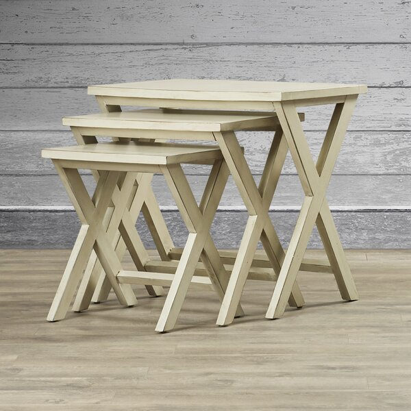 Joanna Solid Wood Nesting Tables By Loon Peak
