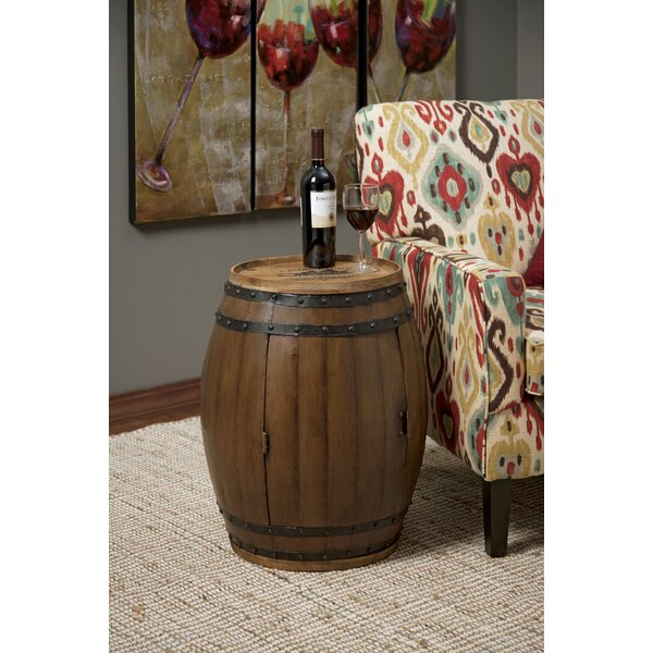 Wensley End Table by Millwood Pines