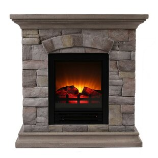 Completely new Faux Stone Electric Fireplace | Wayfair WE67