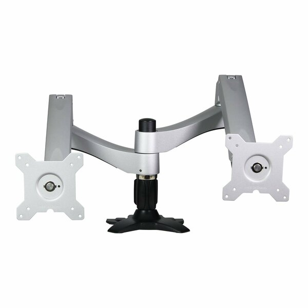 Washington Dual Tilt/Swivel/Articulating Arm Universal Desktop Mount for 12 - 24 Screens by Dyconn