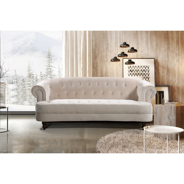 Vinci Chesterfield Sofa by House of Hampton
