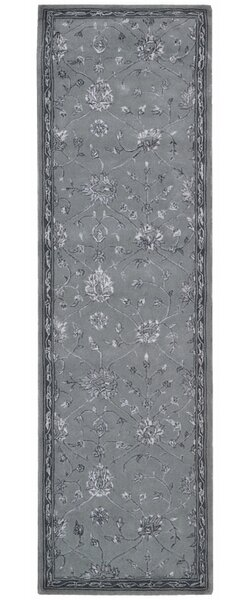 Nelsonville hand-Tufted Wool Slate Area Rug