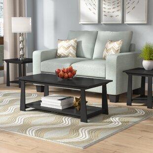 Elianna 3 Piece Coffee Table Set