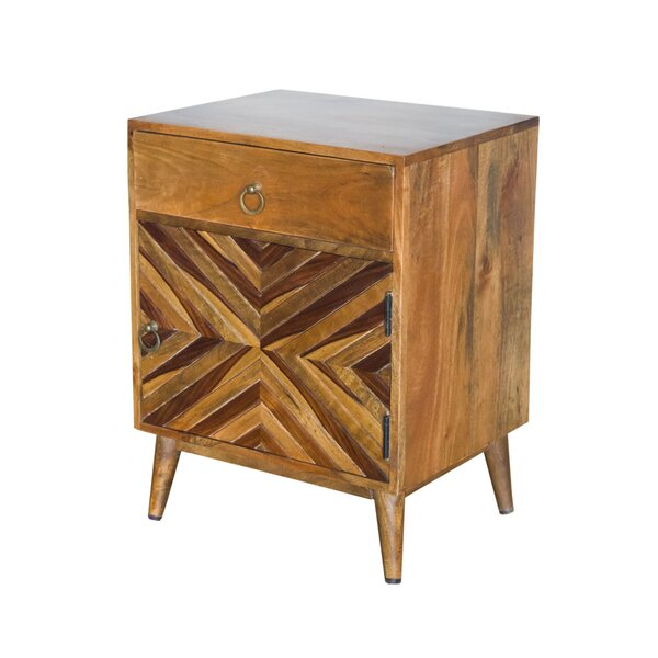 Glaucia 1 Drawer Nightstand by Union Rustic Union Rustic
