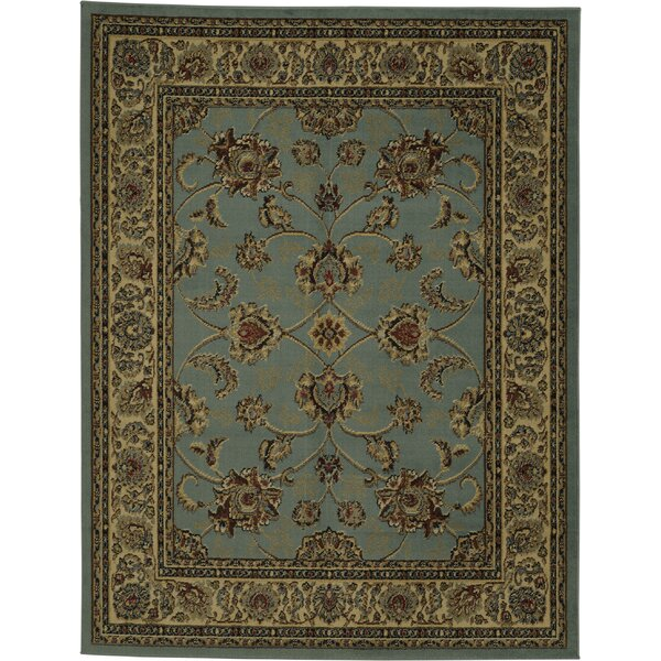 Steadham Blue/Brown Area Rug by Charlton Home