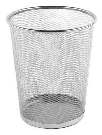 Metal Waste Basket by Design Ideas