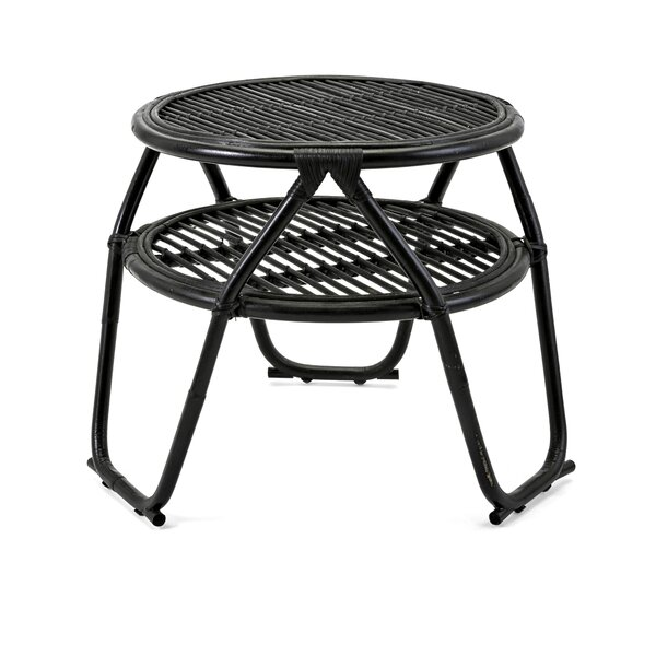 Stayton Rattan End Table by Bay Isle Home
