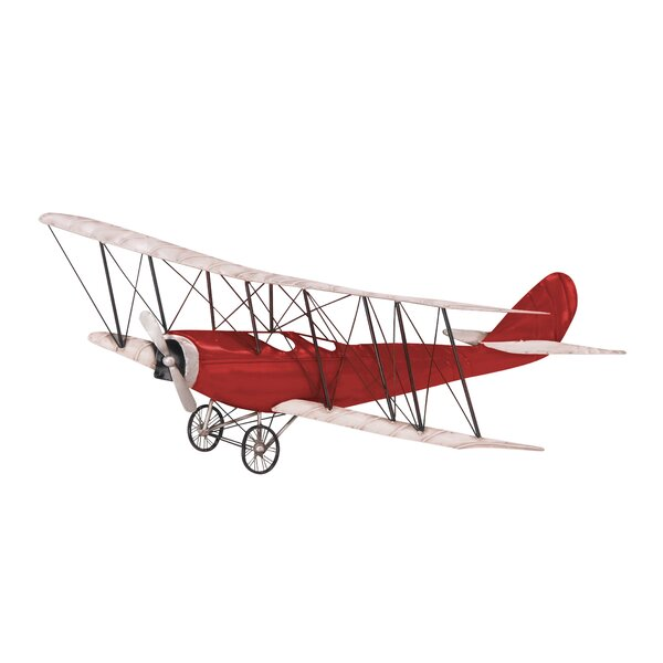 Industrial Aircraft Wall Decor by Williston Forge