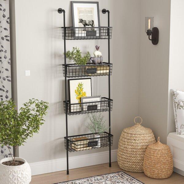 26 x 77 x 10 4-Tier Wire Basket Wall Shelf by Birch Lane™