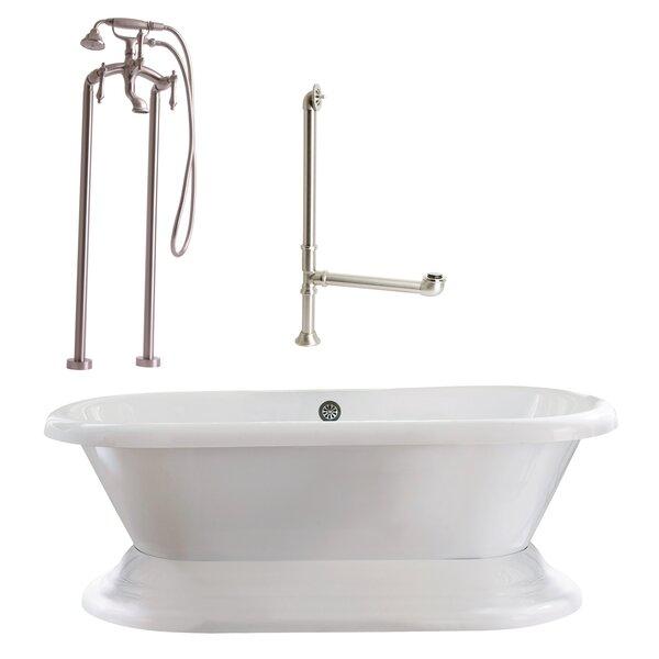 Wescott Dual Soaking Bathtub by Giagni