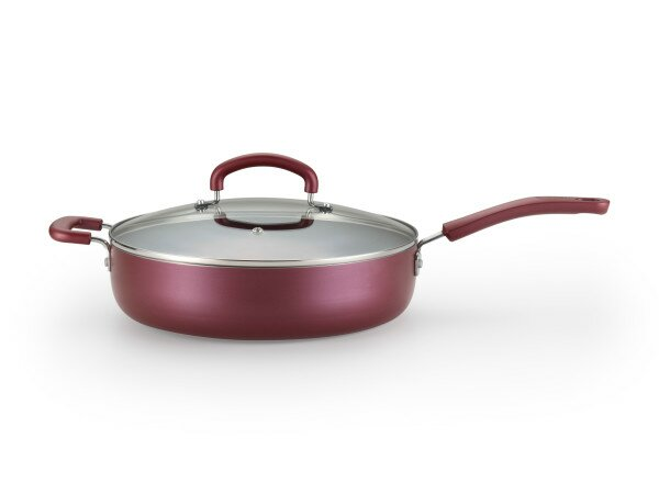 Color Luxe 5-qt. Saute Pan with Lid by T-fal