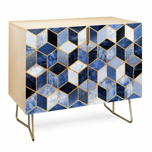 Elisabeth Fredriksson Cubes Birch Accent Cabinet by East Urban Home East Urban Home