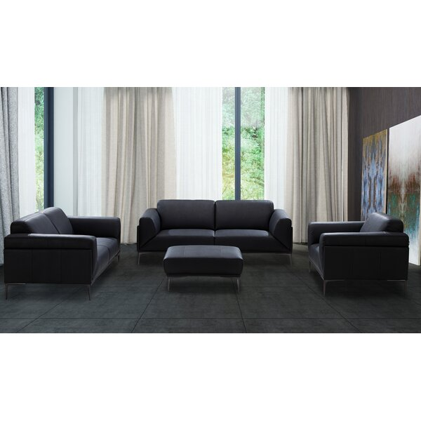 Brisbin Configurable Living Room Set by Wade Logan