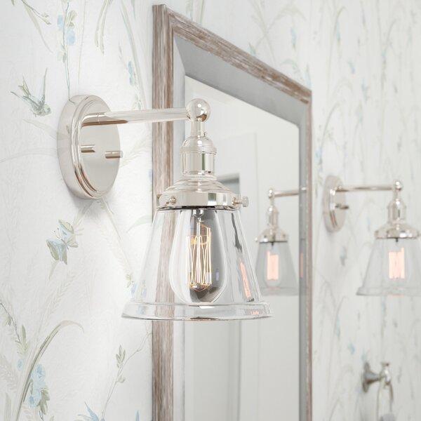 Sandy Springs 1-Light Bath Sconce by Laurel Foundry Modern Farmhouse