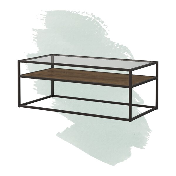 Hartley Frame Coffee Table With Storage By Foundstone