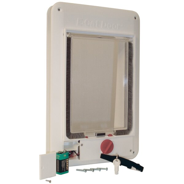 Electromagnetic E Cat Door by Perfect Pet by Ideal