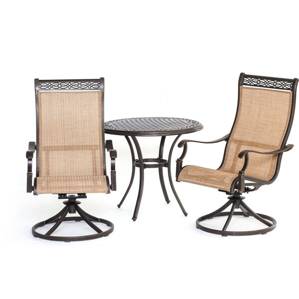 Barras 3 Piece Bistro Set by Darby Home Co