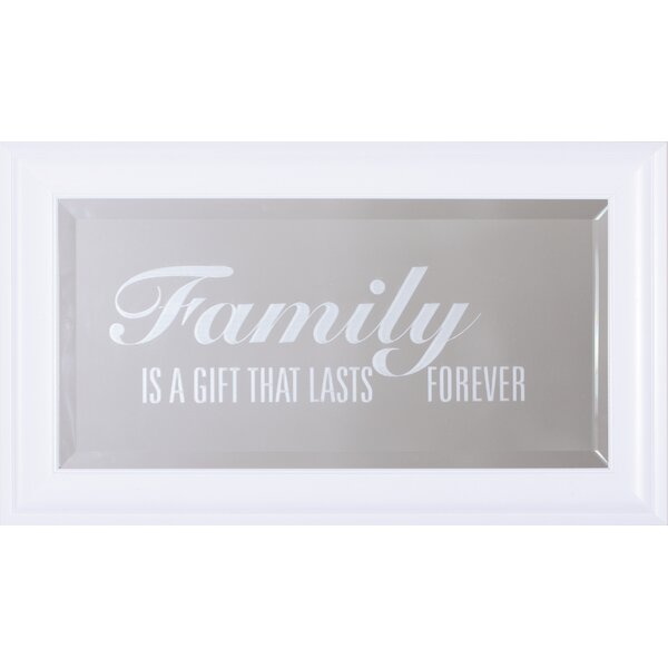 Family Is A Gift Wall Mirror by Art Effects