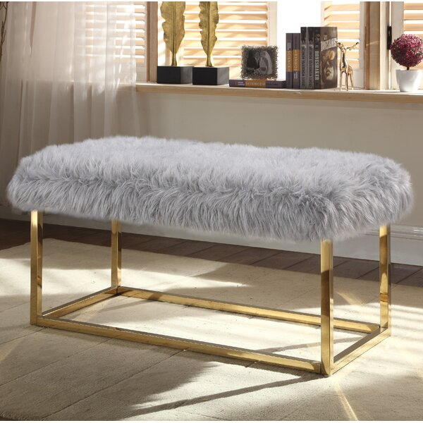 Bostrom Upholstered Bench by Everly Quinn