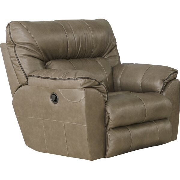 Milan Leather Recliner By Catnapper