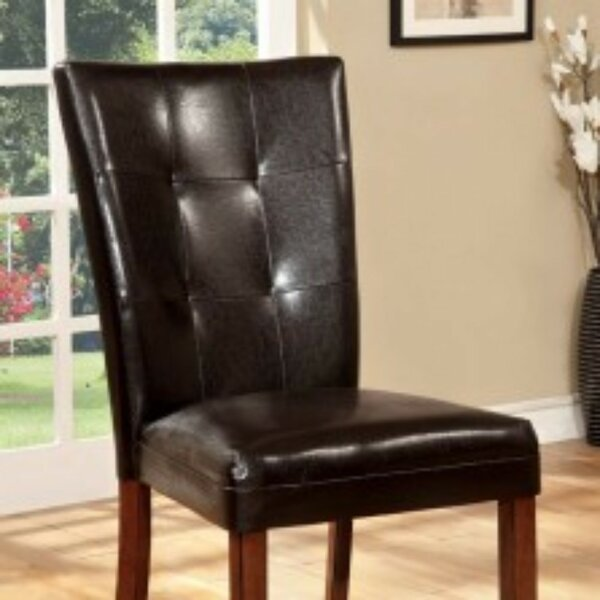 Moore Padded Upholstered Dining Chair (Set of 2) by Winston Porter