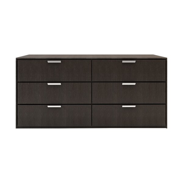 Cleethorpes 6 Drawer Double Dresser by Wade Logan
