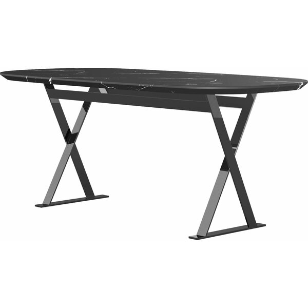Hyun Dining Table by Orren Ellis Orren Ellis
