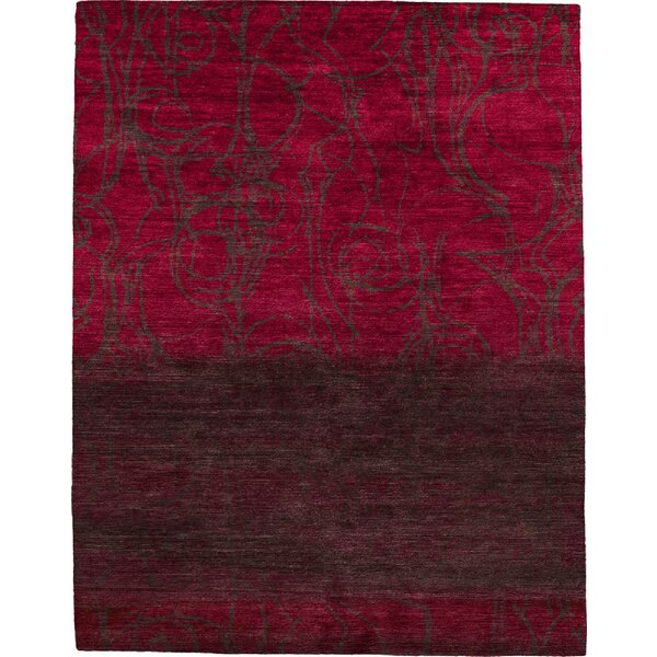 One-of-a-Kind Pinehurst Hand-Knotted Traditional Style Red/Brown 12' x 18' Wool Area Rug