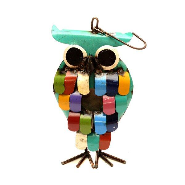 Owl 16 in x 7 in x 4 in Birdhouse by Rustic Arrow