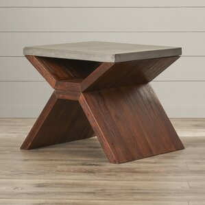 MIXT Vixen End Table by Sunpan Modern