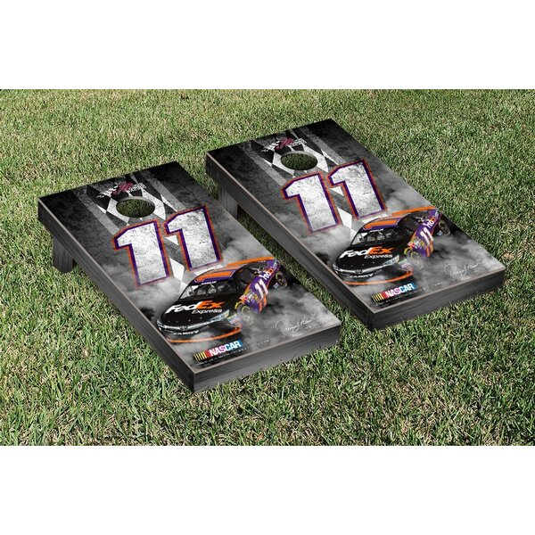 NCAA Nascar Pit Row Version Cornhole Game Set by Victory Tailgate