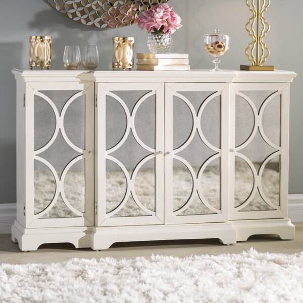 Elyza 4 Door Credenza by Willa Arlo Interiors