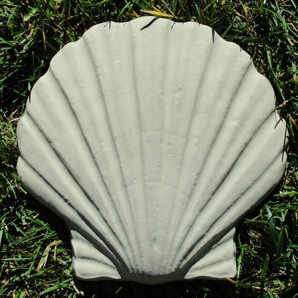 Seashell Stepping Stone (Set of 3) by Designer Stone, Inc