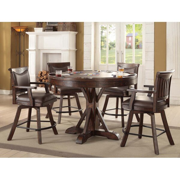 Tremper 5 Piece Pub Table Set by Millwood Pines