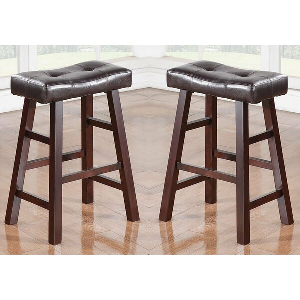 Kaley 24 Bar Stool (Set of 2) by Charlton Home