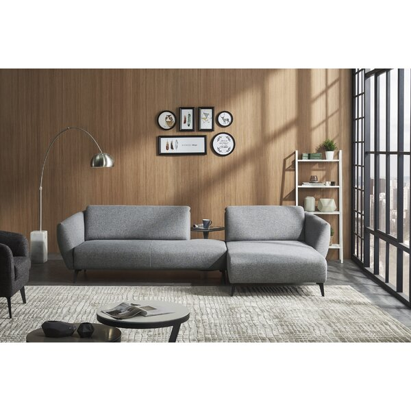 Bouie Right Hand Facing Sectional By Corrigan Studio