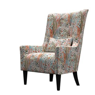 Fantastic Caryn Wingback Chair Gmtry Best Dining Table And Chair Ideas Images Gmtryco