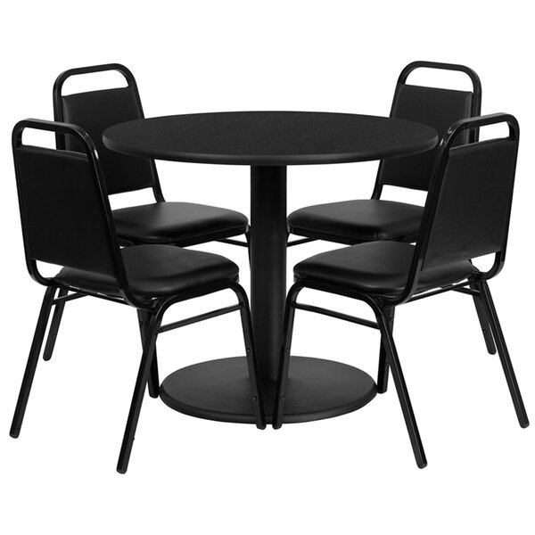 Jazmin 5 Piece Dining Set by Ebern Designs Ebern Designs