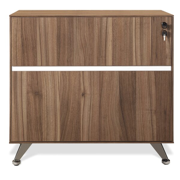 Manhattan Collection Lateral File Cabinet by Haaken Furniture