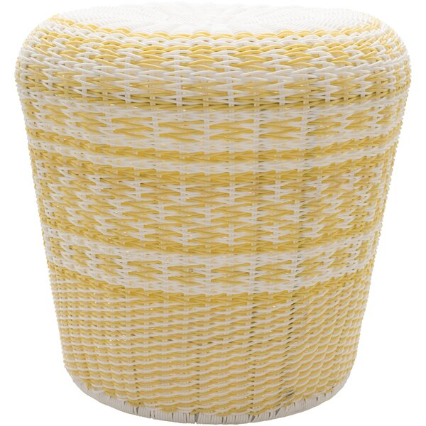 Commerce Accent Stool by Bungalow Rose