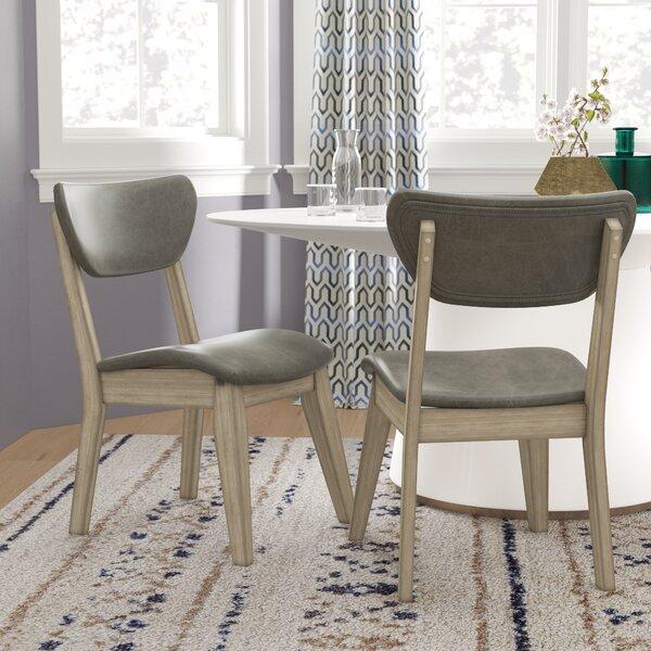 Fernwood Upholstered Side Chair In Silver (Set Of 2) By Brayden Studio