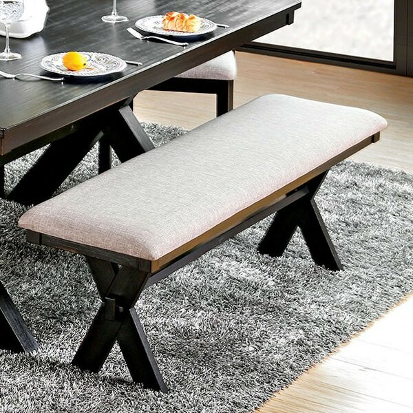Syd Upholstered Bench by Gracie Oaks