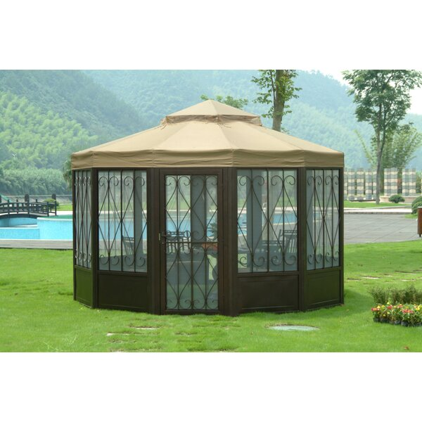 Replacement Canopy (Deluxe) for Sunhouse Gazebo by Sunjoy