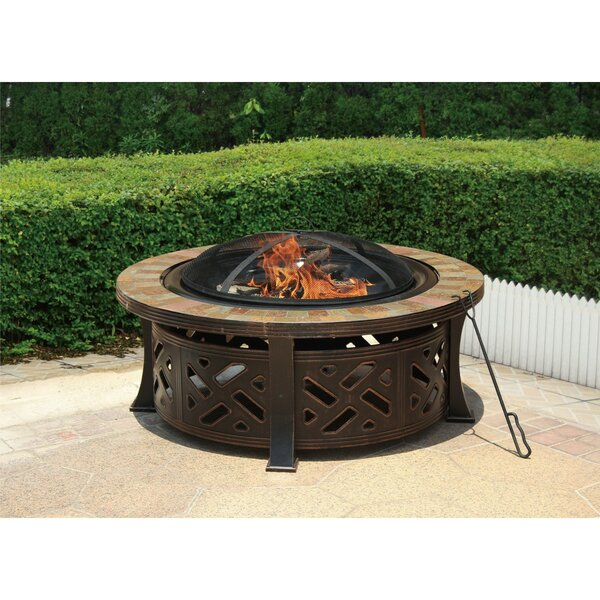 Ornate Steel Fire Pit by Jeco Inc.