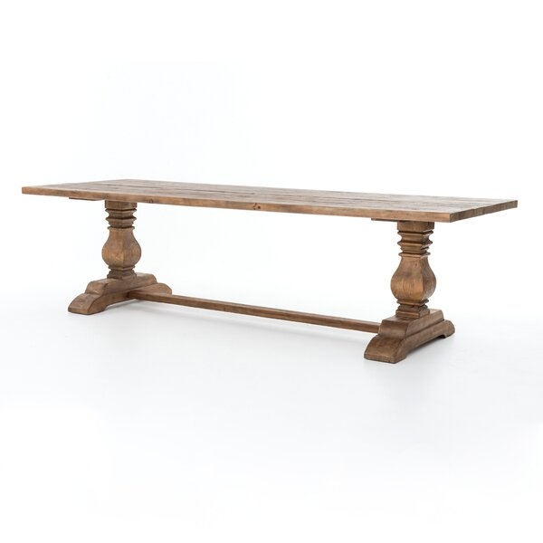 Trestle Solid Wood Dining Table by Design Tree Home